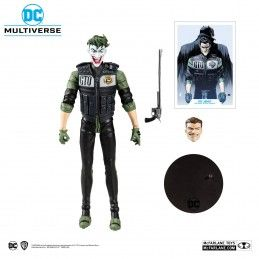 DC MULTIVERSE WHITE KNIGHT JOKER 18CM ACTION FIGURE MC FARLANE