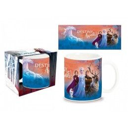 PYRAMID INTERNATIONAL FROZEN DESTINY GROUP CERAMIC MUG TAZZA IN CERAMICA