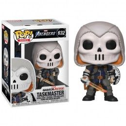 FUNKO POP! MARVEL AVENGERS GAMERVERSE TASKMASTER BOBBLE HEAD KNOCKER FIGURE FUNKO