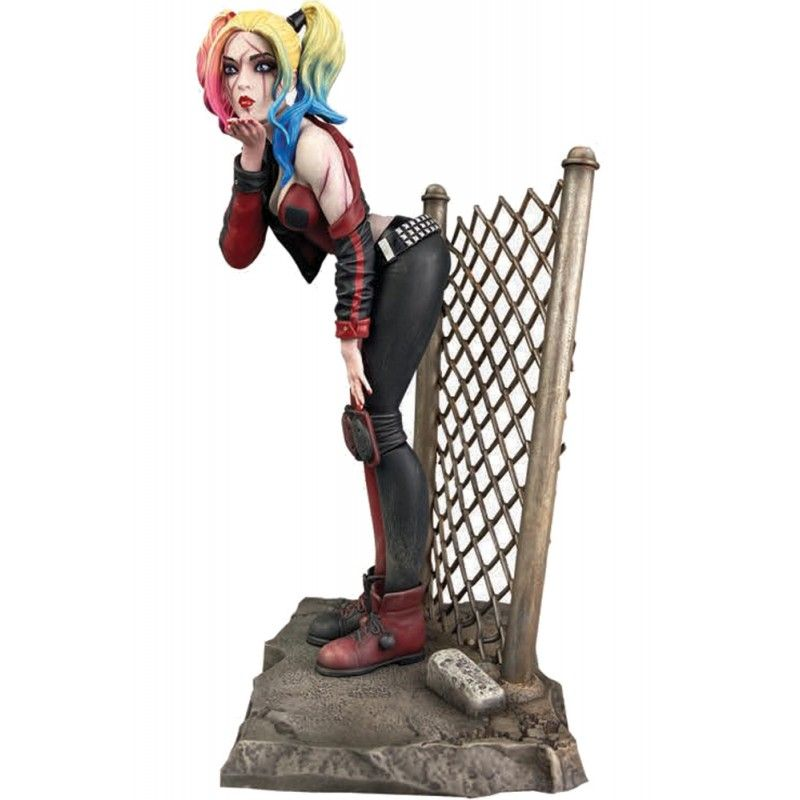 DIAMOND SELECT DC GALLERY DCEASED HARLEY QUINN 20CM FIGURE STATUE