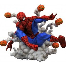 MARVEL GALLERY PUMPKIN BOMB SPIDER-MAN 17CM FIGURE STATUE DIAMOND SELECT