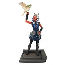 STAR WARS PREMIER COLLECTION THE CLONE WARS - AHSOKA TANO 30CM FIGURE RESIN STATUE DIAMOND SELECT