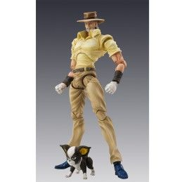 JOJO BIZARRE ADVENTURE CHOZOKADO JOSEPH JOESTAR AND IGGY ACTION FIGURE MEDICOS ENTERTAINMENT