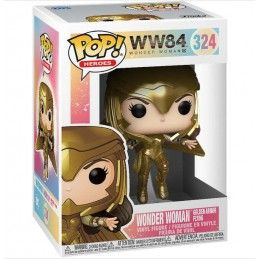 FUNKO POP! WONDER WOMAN 1984 GOLDEN ARMOR 324 BOBBLE HEAD FUNKO