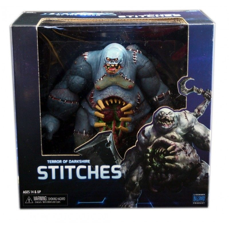 HEROES OF THE STORM - STITCHES (TERROR OF DARKSHIRE) DELUXE ACTION FIGURE NECA