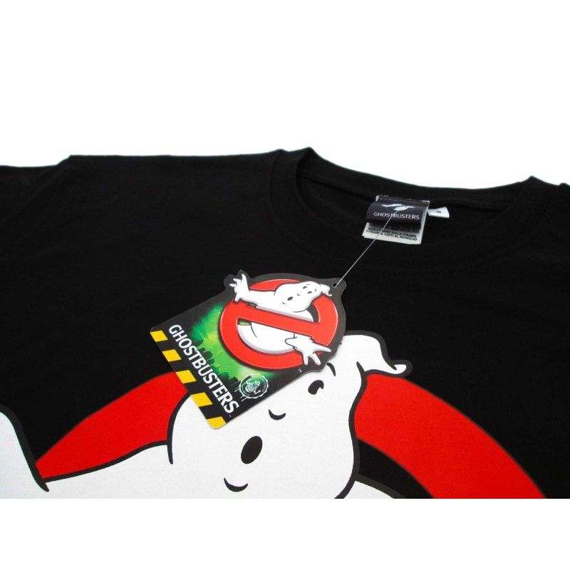 MAGLIA T SHIRT GHOSTBUSTERS LOGO