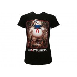 MAGLIA T SHIRT GHOSTBUSTERS STAY PUFT