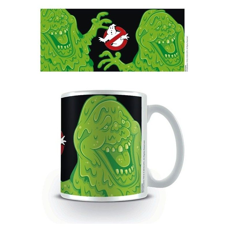 GHOSTBUSTERS SLIMER CERAMIC MUG TAZZA IN CERAMICA PYRAMID INTERNATIONAL