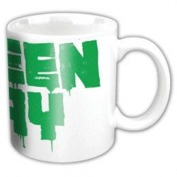 PYRAMID INTERNATIONAL GREEN DAY LOGO CERAMIC MUG TAZZA IN CERAMICA
