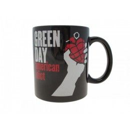 GREEN DAY AMERICAN IDIOT CERAMIC MUG TAZZA IN CERAMICA PYRAMID INTERNATIONAL