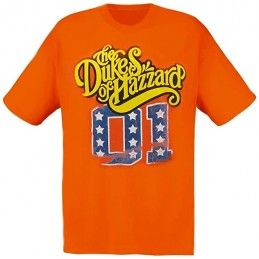 MAGLIA T SHIRT THE DUKES OF HAZZARD
