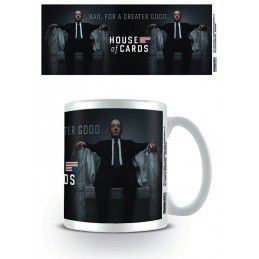 PYRAMID INTERNATIONAL HOUSE OF CARDS CERAMIC MUG TAZZA IN CERAMICA