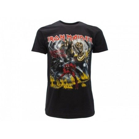 MAGLIA T SHIRT IRON MAIDEN THE NUMBER OF THE BEAST