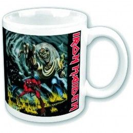 PYRAMID INTERNATIONAL IRON MAIDEN THE NUMBER OF THE BEAST CERAMIC MUG TAZZA IN CERAMICA