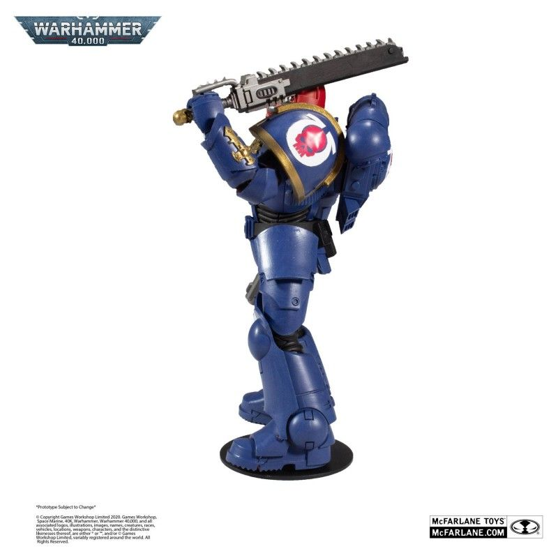 MC FARLANE WARHAMMER 40000 - SPACE MARINE 18CM ACTION FIGURE