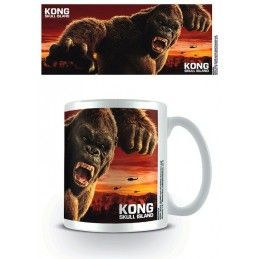 PYRAMID INTERNATIONAL KING KONG SKULL ISLAND CERAMIC MUG TAZZA IN CERAMICA