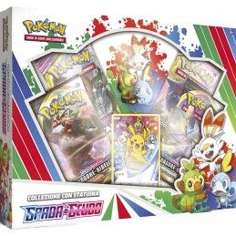 POKEMON COLLEZIONE CON STATUINA SPADA E SCUDO THE POKEMON COMPANY INTERNATIONAL