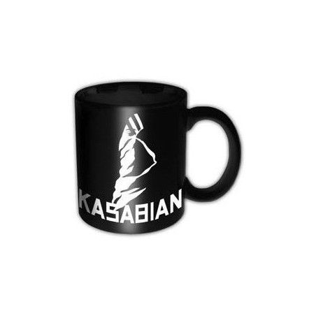 KASABIAN LOGO CERAMIC MUG TAZZA IN CERAMICA