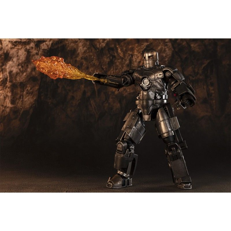 IRON MAN - BIRTH OF IRON MAN MARK I S.H. FIGUARTS ACTION FIGURE BANDAI