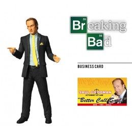 BREAKING BAD SAUL GOODMAN ACTION FIGURE IN BLISTER MEZCO TOYS