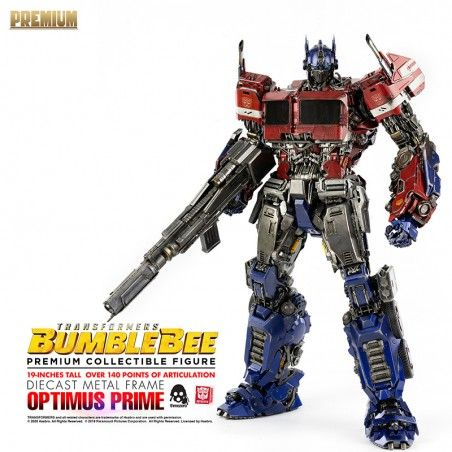 TRANSFORMERS BUMBLEBEE - OPTIMUS PRIME PREMIUM SCALE DIECAST ACTION FIGURE