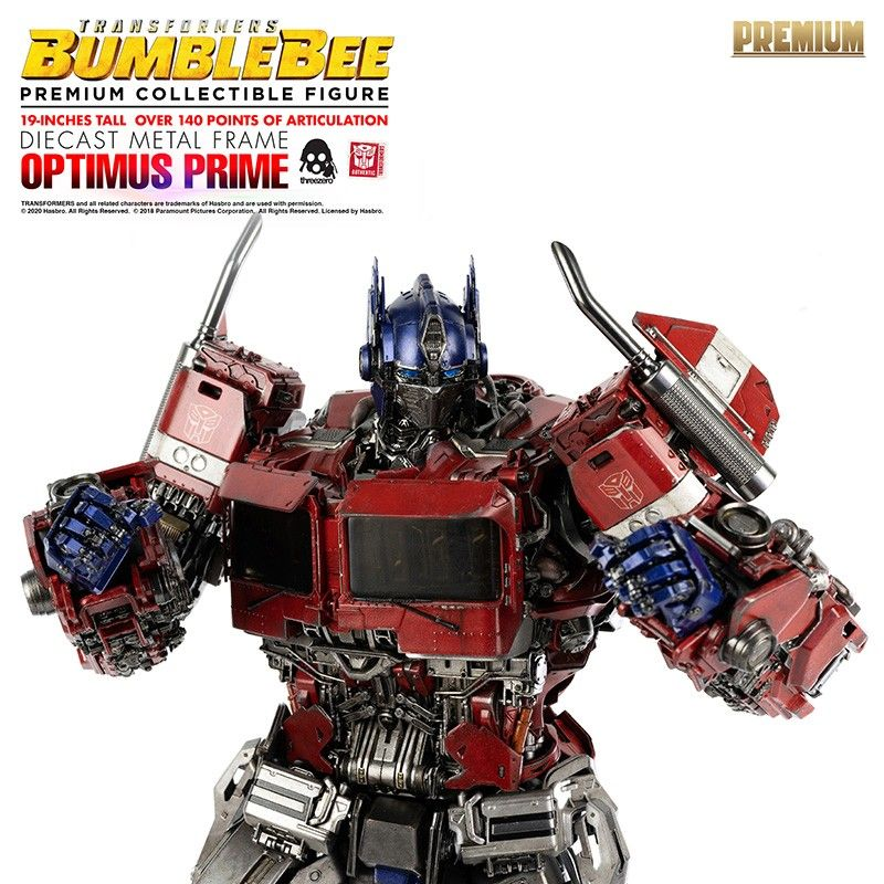 TRANSFORMERS BUMBLEBEE - OPTIMUS PRIME PREMIUM SCALE DIECAST ACTION FIGURE THREE A TOYS