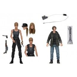 TERMINATOR 2 SARAH AND JOHN CONNOR ACTION FIGURE NECA