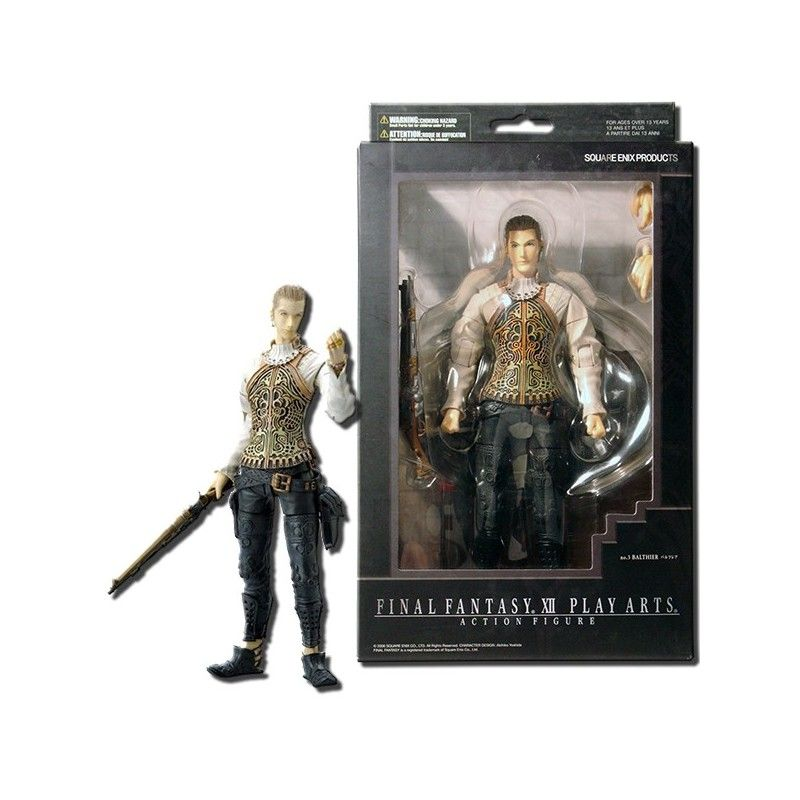 SQUARE ENIX FINAL FANTASY XII 12 - BALTHIER PLAY ARTS ACTION FIGURE