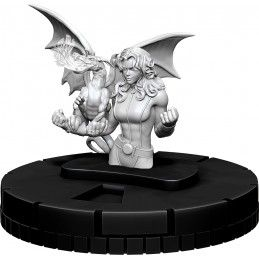 MARVEL HEROCLIX - X-MEN KITTY PRYDE SHADOWCAT UNPAINTED MINIATURE FIGURE WIZKIDS