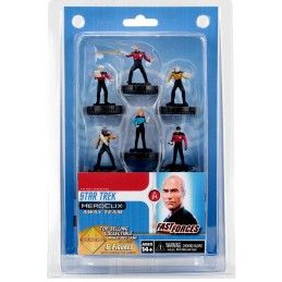 STAR TREK HEROCLIX - THE NEXT GENERATION AWAY TEAM FAST FORCES MINI FIGURES WIZKIDS