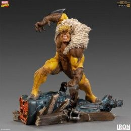 IRON STUDIOS X-MEN - SABRETOOTH BDS ART SCALE 1/10 STATUE 21CM FIGURE