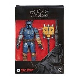 STAR WARS THE MANDALORIAN BLACK SERIES - HEAVY INFANTRY MANDALORIAN ACTION FIGURE HASBRO