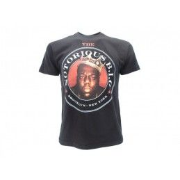 MAGLIA T SHIRT THE NOTORIOUS BIG