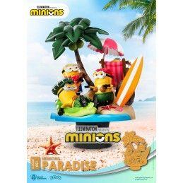 D-STAGE MINIONS PARADISE 051 STATUE FIGURE DIORAMA BEAST KINGDOM