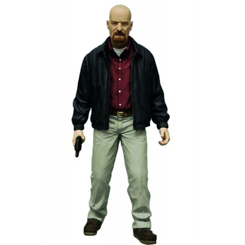 BREAKING BAD WALTER WHITE HEISENBERG ACTION FIGURE MEZCO TOYS