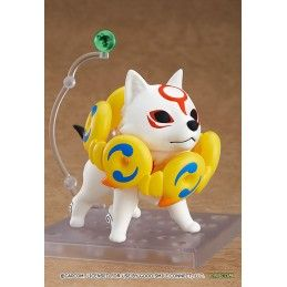 GOOD SMILE COMPANY OKAMI AMATERASU DELUXE NENDOROID ACTION FIGURE