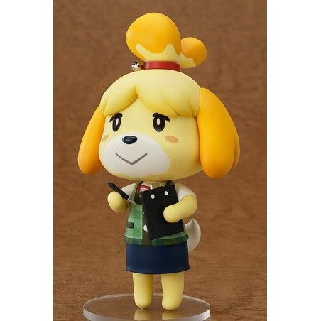 ANIMAL CROSSING NEW LEAF SHIZUE ISABELLE NENDOROID ACTION FIGURE
