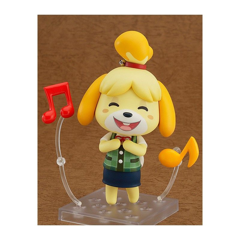 GOOD SMILE COMPANY ANIMAL CROSSING NEW LEAF SHIZUE ISABELLE NENDOROID ACTION FIGURE
