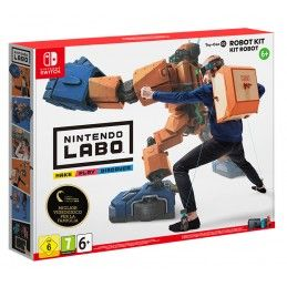 NINTENDO NINTENDO LABO ROBOT KIT SWITCH NUOVO