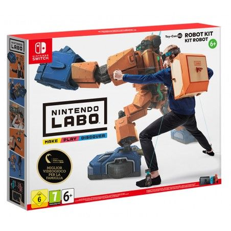 NINTENDO LABO ROBOT KIT SWITCH NUOVO