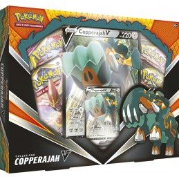 THE POKEMON COMPANY INTERNATIONAL POKEMON COLLEZIONE COPPERAJAH V BOX IN ITALIANO