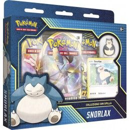 THE POKEMON COMPANY INTERNATIONAL POKEMON COLLEZIONE CON SPILLA SNORLAX BOX IN ITALIANO