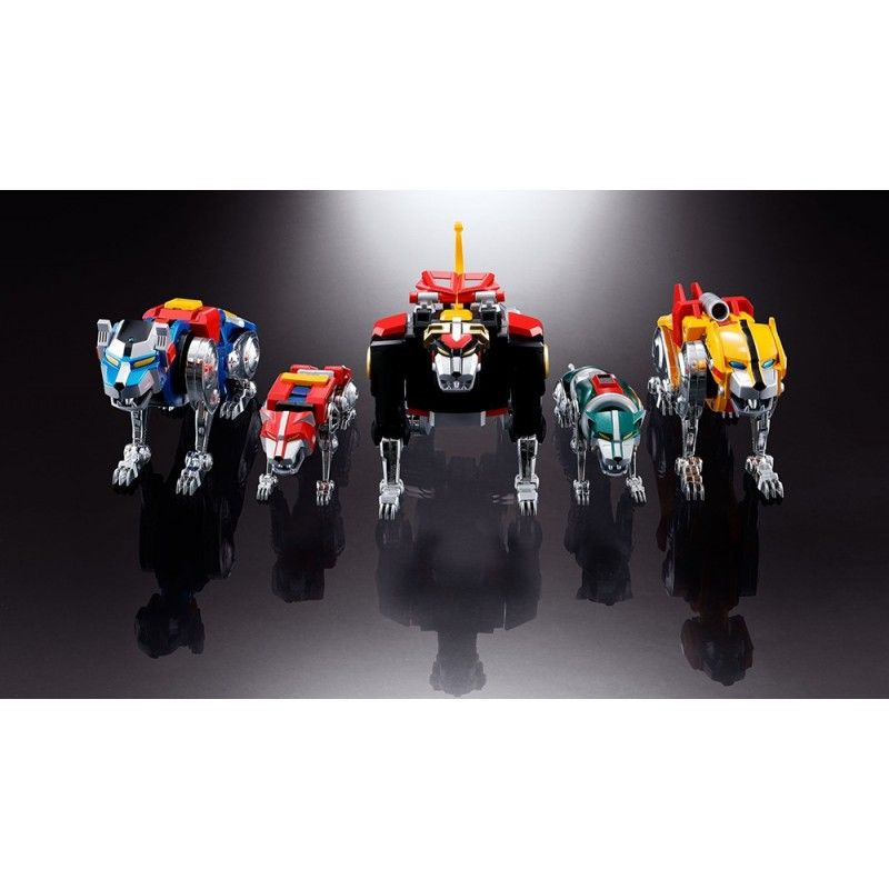 SOUL OF CHOGOKIN GX-71 VOLTRON DIE CAST RISTAMPA ACTION FIGURE BANDAI
