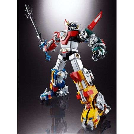 SOUL OF CHOGOKIN GX-71 VOLTRON DIE CAST RISTAMPA ACTION FIGURE