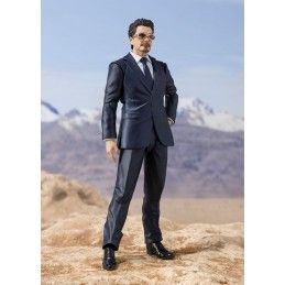 BANDAI TONY STARK BIRTH OF IRON MAN S.H. FIGUARTS ACTION FIGURE