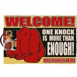 ONE-PUNCH MAN DOORMAT ZERBINO 40X60CM PYRAMID INTERNATIONAL