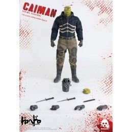 DOROHEDORO - CAIMAN ANIME VERSION 1/6 COLLECTIBLE FIGURE 36CM ACTION FIGURE THREEZERO