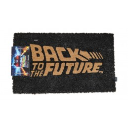 BACK TO THE FUTURE LOGO RITORNO AL FUTURO DOORMAT ZERBINO TAPPETINO SD TOYS
