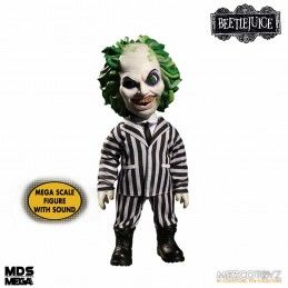 MEZCO TOYS BEETLEJUICE MDS - TALKING BEETLEJUICE 37 CM ACTION FIGURE