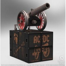 KNUCKLEBONZ ROCK ICONZ - AC/DC ON TOUR FOR THOSE ABOUT TO ROCK CANNON STATUE 20 CM RESIN FIGURE